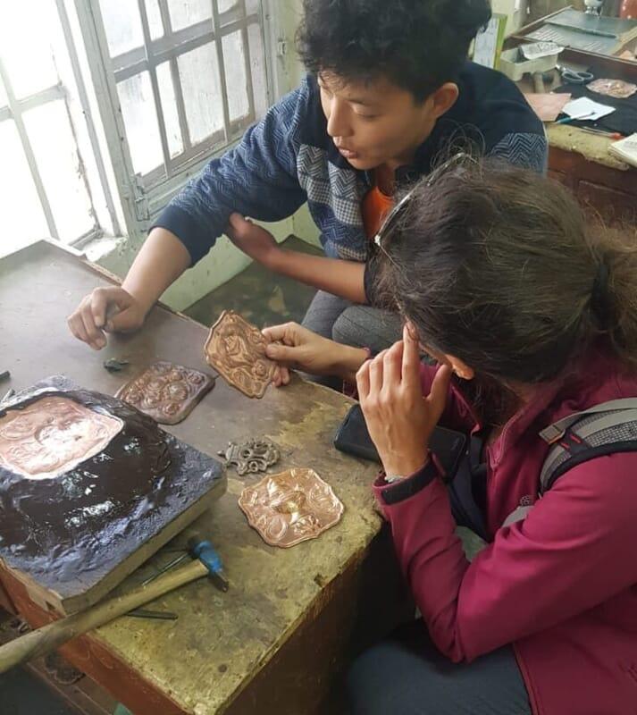 ריפוסה טכניקות צורפות אומנות תכשיטים